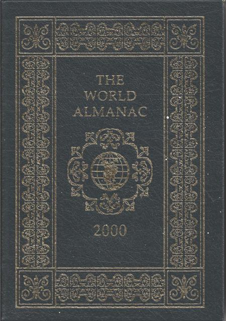 Image for The World Almanac And Book Of Facts 2000