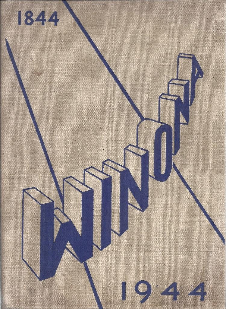 Image for The Winona 1944 Yearbook, Hillsdale College, Hillsdale, Michigan
