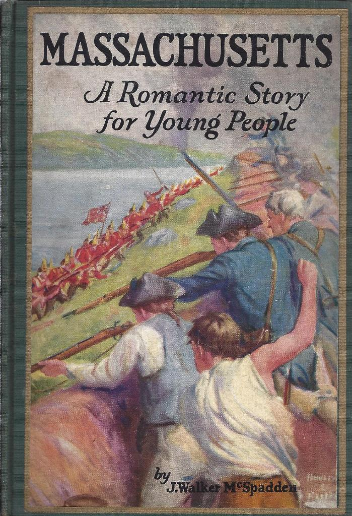 Image for Massachusetts A Romantic Story For Young People