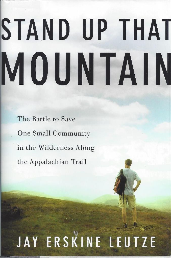 Image for Stand Up That Mountain  The Battle to Save One Small Community in the Wilderness Along the Appalachian Trail