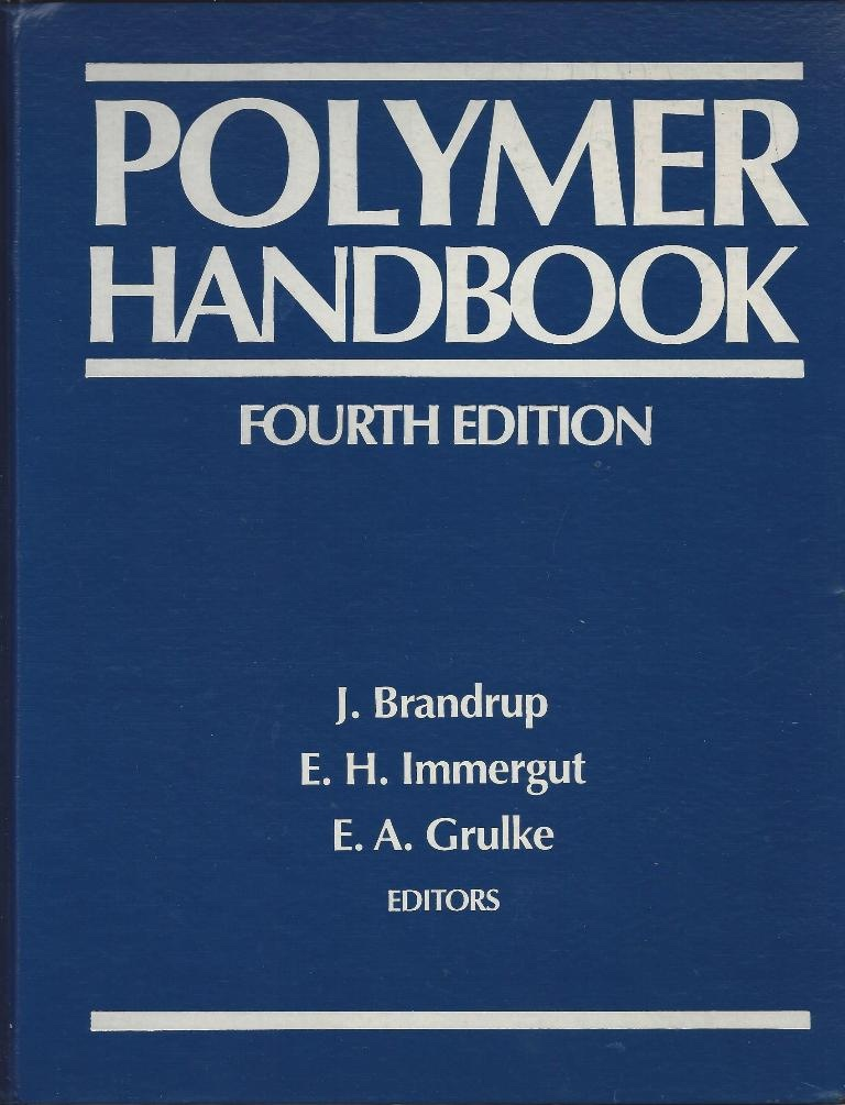 Image for Polymer Handbook Fourth Edition