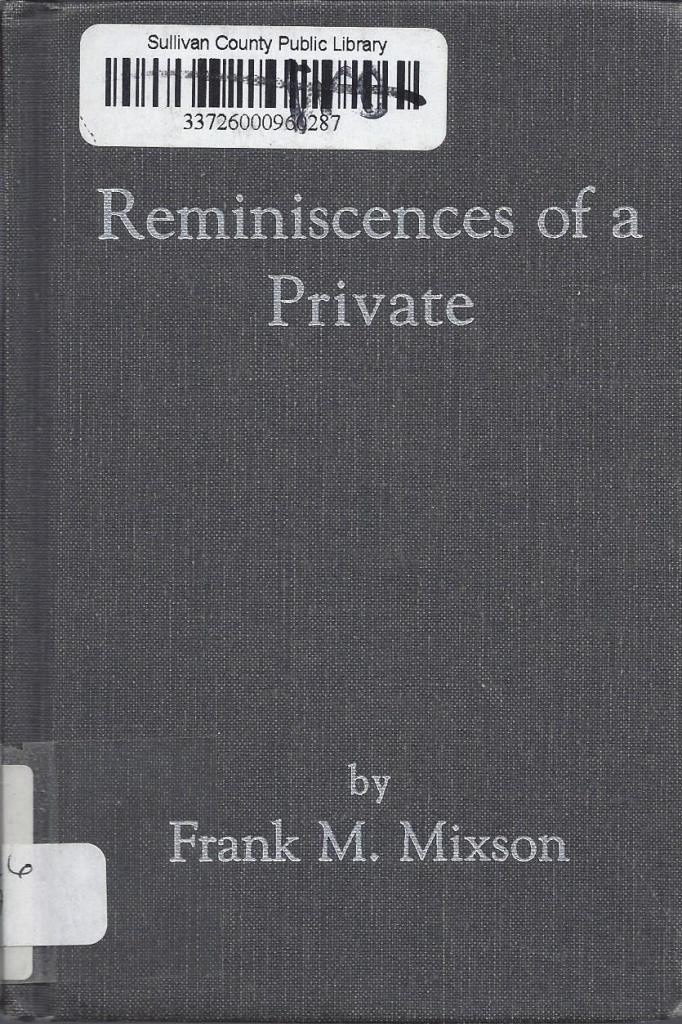 Image for Reminiscences of a Private