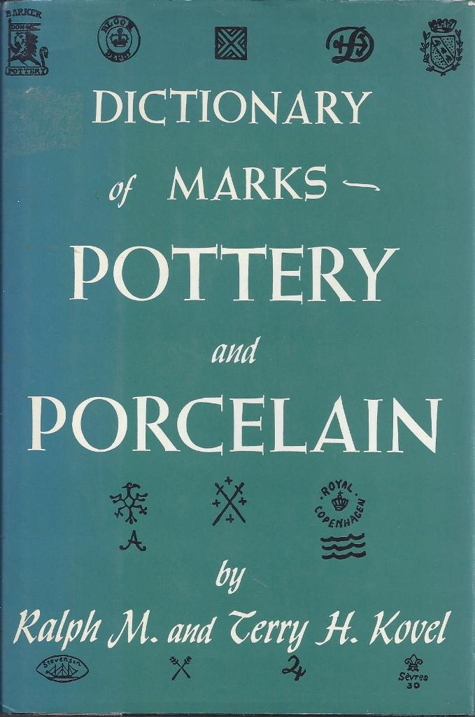 Image for Dictionary of Marks Pottery and Porcelain