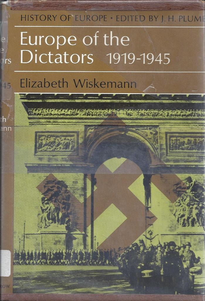 Image for Europe of the Dictators, 1919-1945